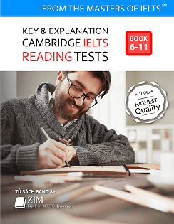Giải đề Reading Cambridge IELTS 6 - 11