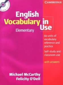 Cambridge English Vocabulary In Use: Elementary Edition