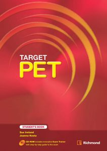 Target PET: Vocabulary Worksheets