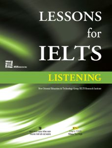 Lesson for IELTS – Listening