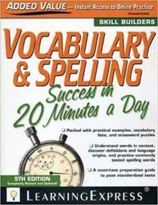Vocabulary and spelling in 20 min ielts share