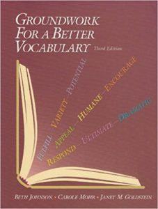 Groundwork for a Better Vocabulary ielts share