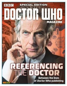 Doctor Who Magazine Special Edition Referencing The Doctor 2017