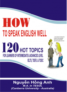 How to Speak English Well – Nguyễn Hồng Anh, M.A in Tesol